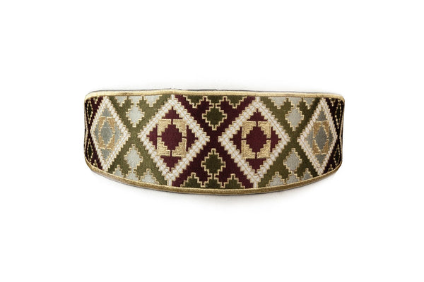 Balouch Belt - Purple & Khaki