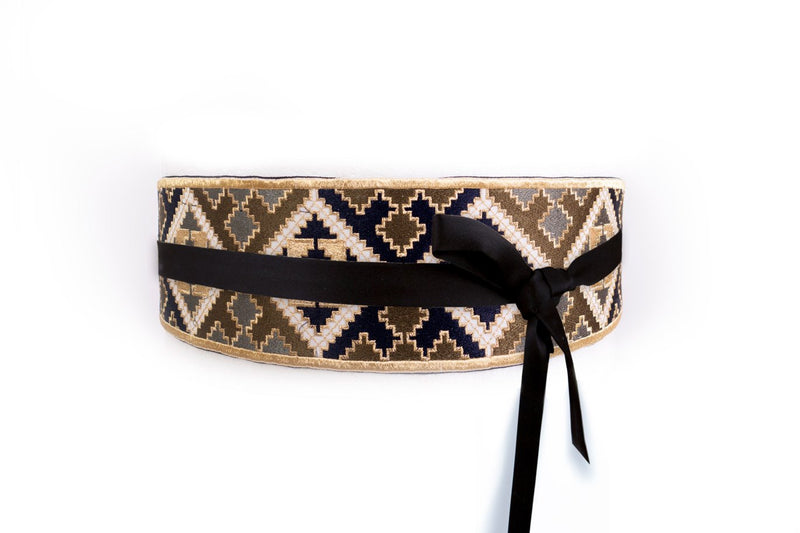 Balouch Belt - Blue & Green