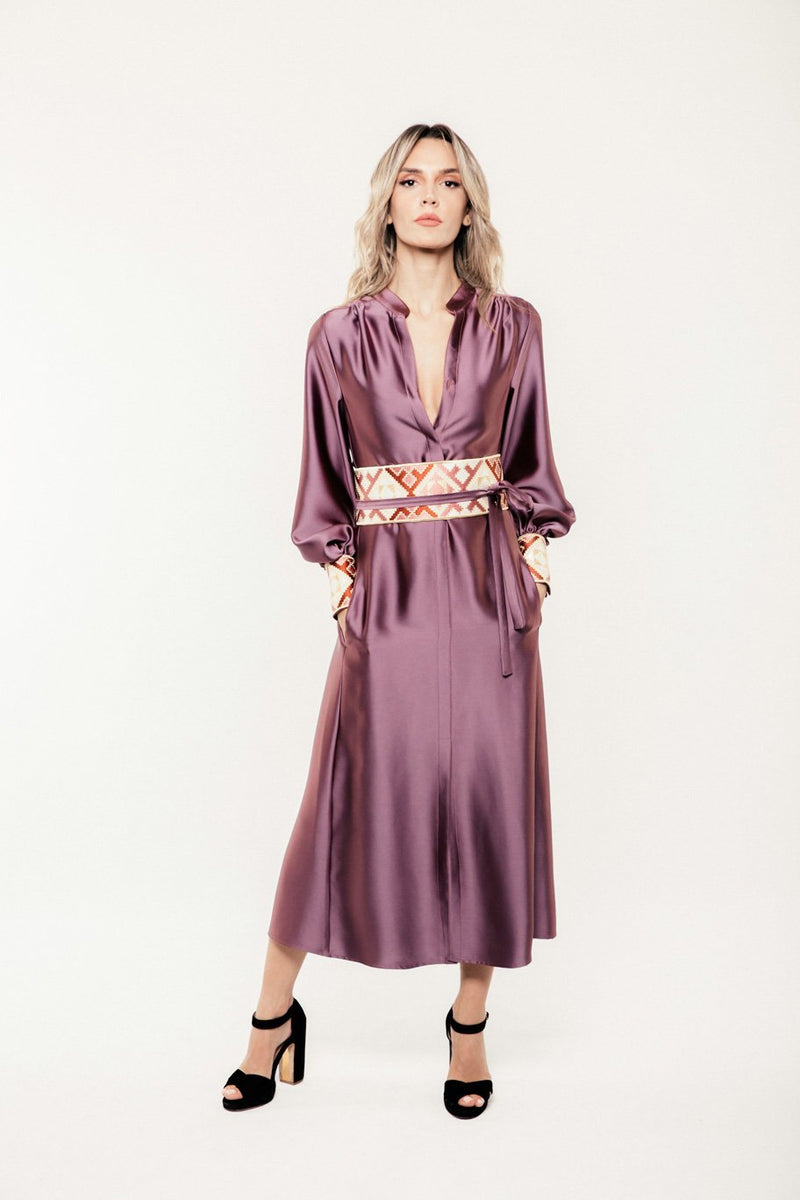 Isfahan Dress - Mauve Dress RoseWaterHouse