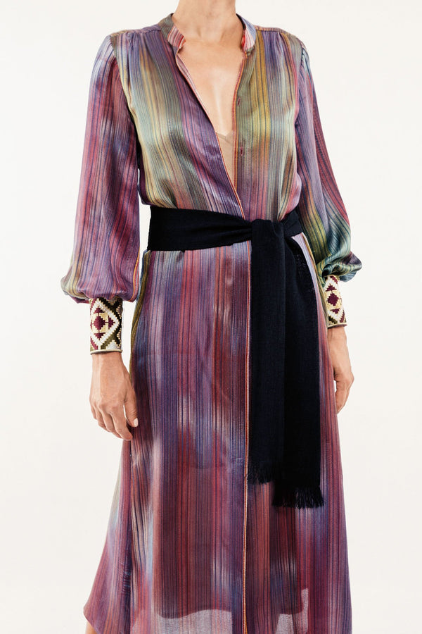 Darai Isfahan Dress - Purple Dress Rosewater House