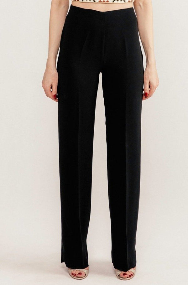 Kaveh Straight Leg Pant - Black Pants RoseWaterHouse
