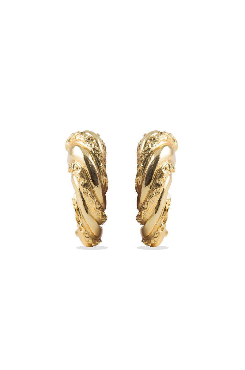 Shahrzad Earrings - Gold Plated Rosewater House