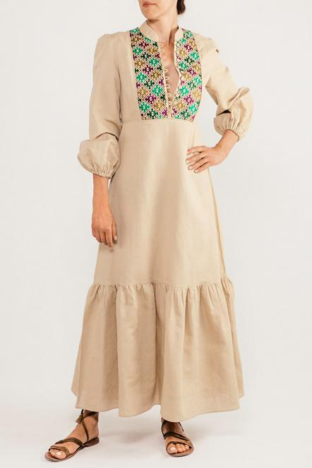 Gilan Dress - Green