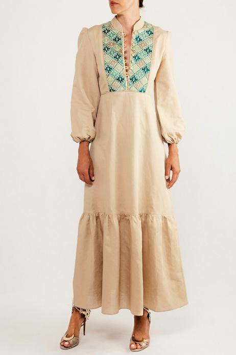 Gilan Dress - Teal