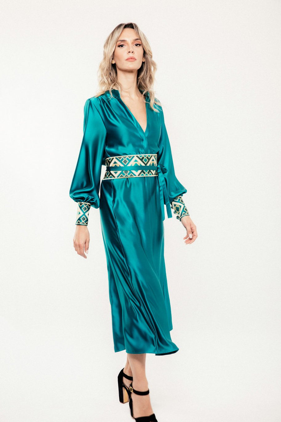 Isfahan Dress - Turquoise