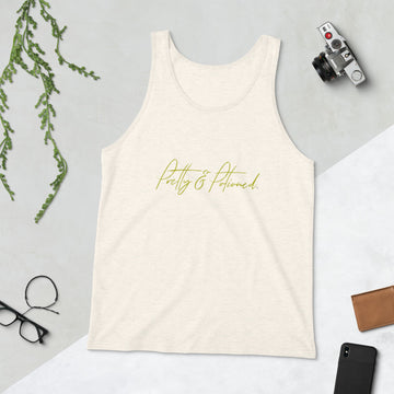 Pretty & Potioned Unisex Tank Top