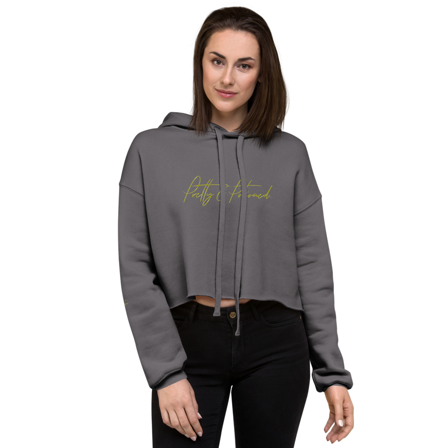 Pretty & Potioned Crop Hoodie