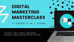 "Digital Marketing Master Course : "" 31 Courses in 1"" (Instant Access) !"