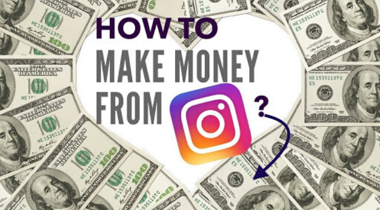 MAKE MONEY ON INSTAGRAM MASTERCLASS.