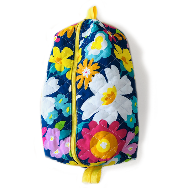 Quilted Floral Bag
