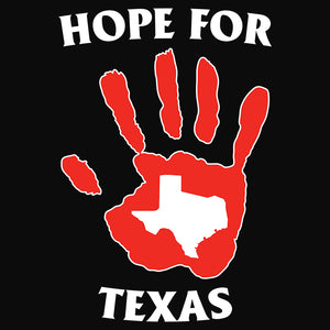 Hope for Texas Handprint - (DSN-11030)