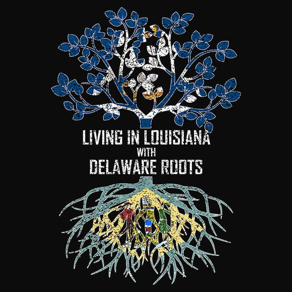 Living In Louisiana with Delaware Roots - (DSN-13124)