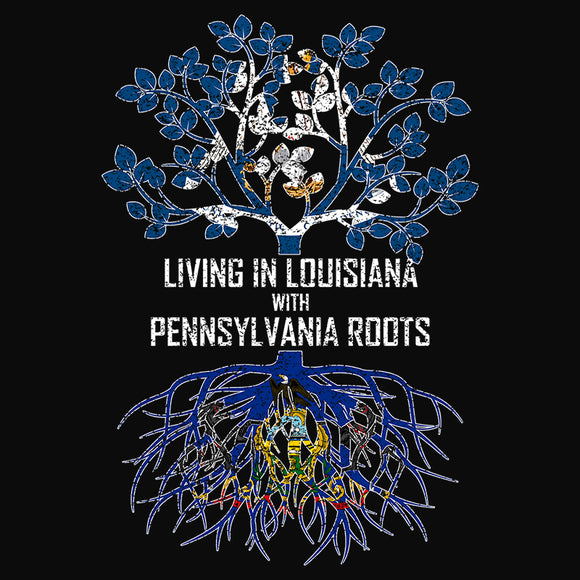 Living In Louisiana with Pennsylvania Roots - (DSN-13153)