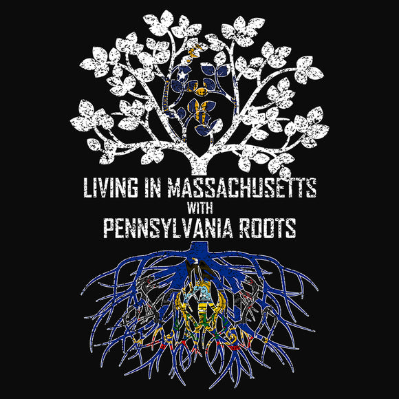 Living In Massachusetts with Pennsylvania Roots - (DSN-13300)