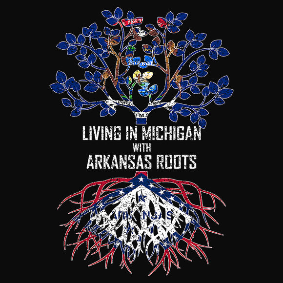 Living In Michigan with Arkansas Roots - (DSN-13316)