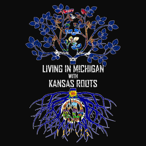 Living In Michigan with Kansas Roots - (DSN-13328)