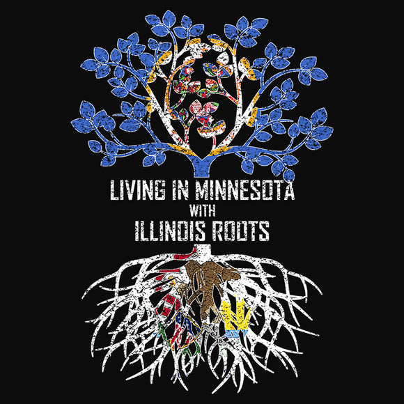 Living In Minnesota with Illinois Roots - (DSN-13374)