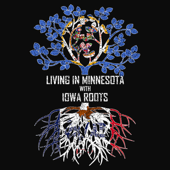 Living In Minnesota with Iowa Roots - (DSN-13376)