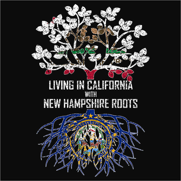 Living In California with New Hampshire Roots - (DSN-12507)