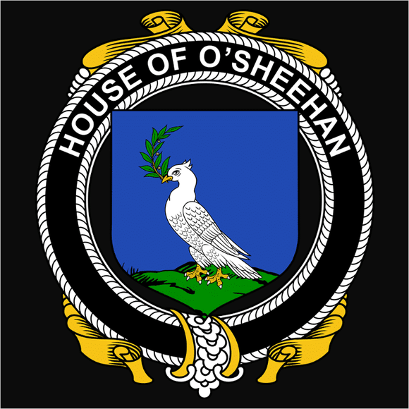 Irish House Heraldry O'Sheehan - (DSN-15490)