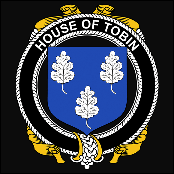 Irish House Heraldry Tobin - (DSN-15506)