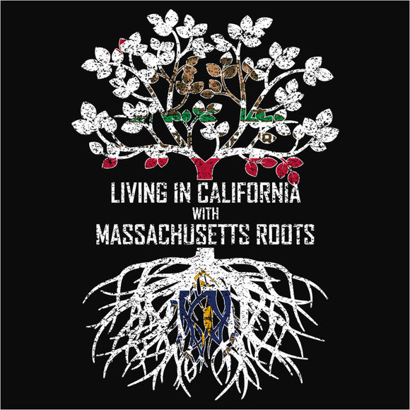 Living In California with Massachusetts Roots - (DSN-12499)