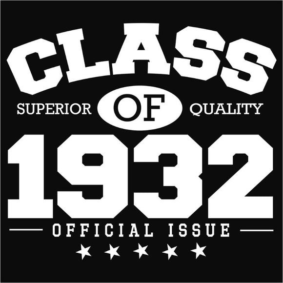 Class of 1932 - (DSN-10791)