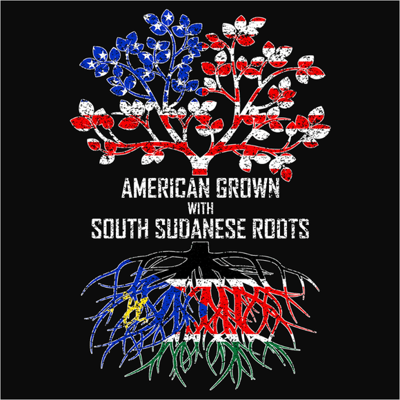 American Grown with South Sudanese Roots - (DSN-11588)