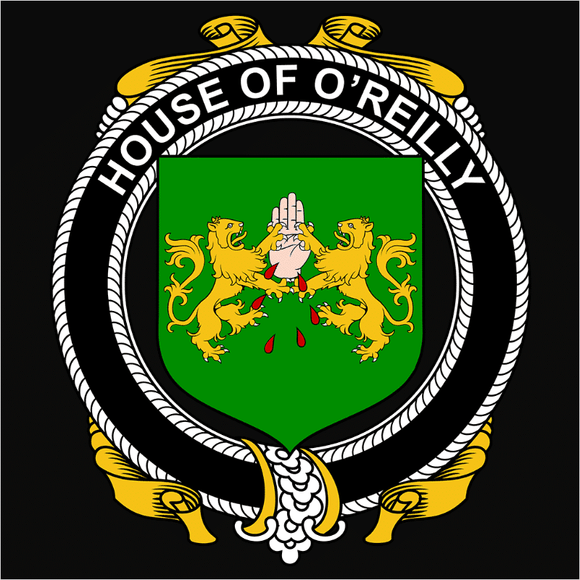Irish House Heraldry O'Reilly - (DSN-15484)