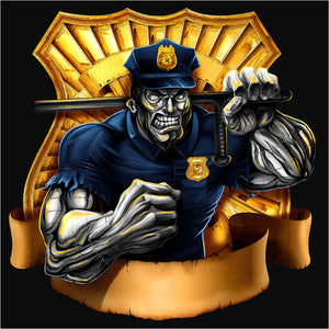 Police Officer Muscle - (DSN-10418)