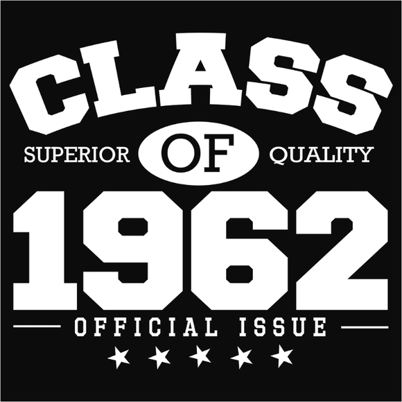 Class of 1962 - (DSN-10821)