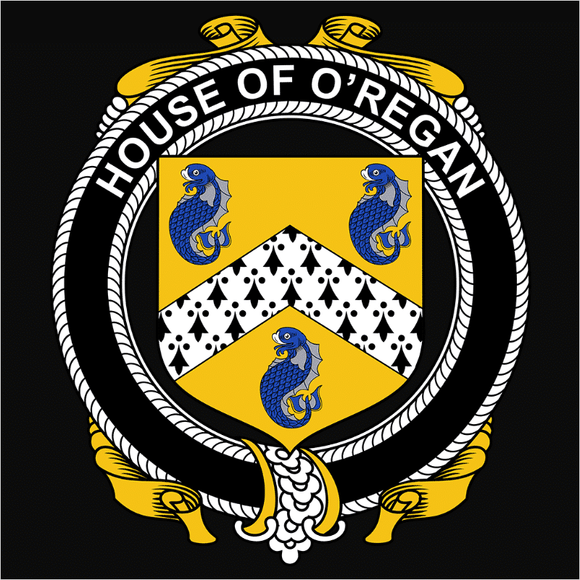 Irish House Heraldry O'Regan - (DSN-15483)