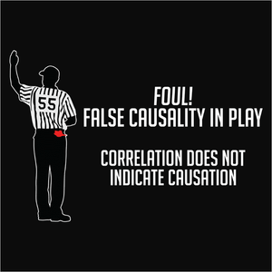 False Causality Logical Fallacy - (DSN-20060)
