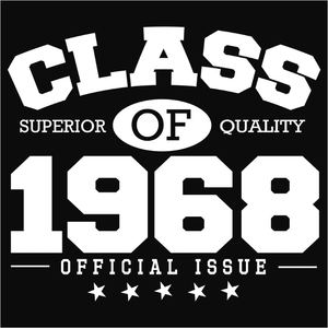 Class of 1968 - (DSN-10827)