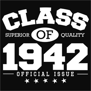 Class of 1942 - (DSN-10801)
