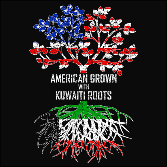 American Grown with Kuwaiti Roots - (DSN-11496)