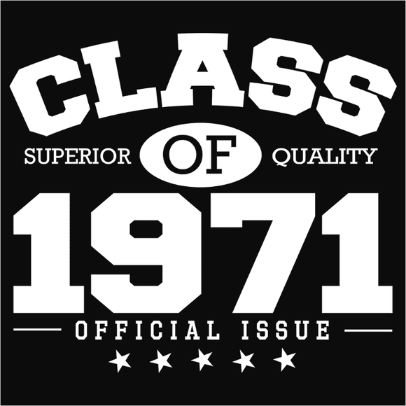 Class of 1971 - (DSN-10831)