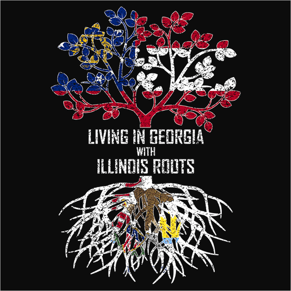 Living In Georgia with Illinois Roots - (DSN-12736)