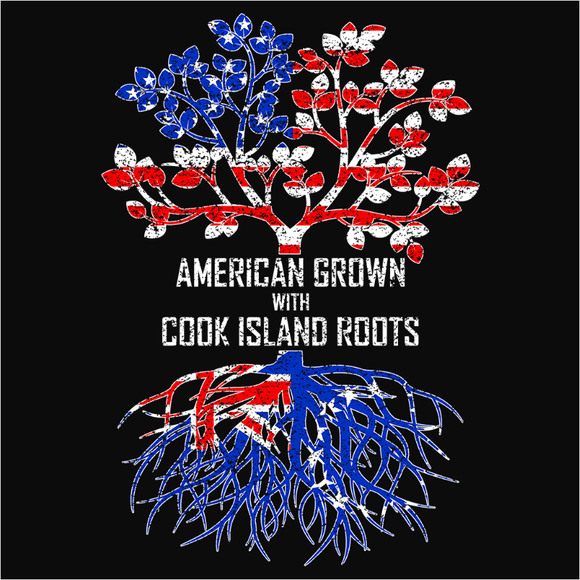 American Grown with Cook Island Roots - (DSN-11427)