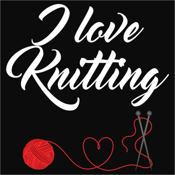 I Love Knitting - (DSN-10022)