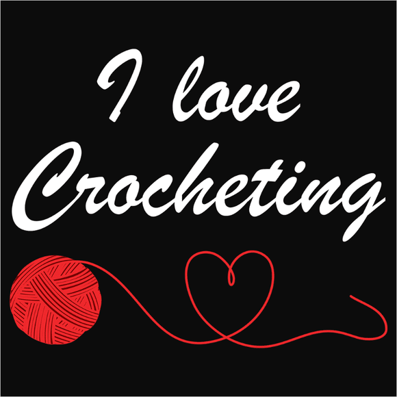Love Crocheting - (DSN-10029)