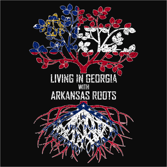 Living In Georgia with Arkansas Roots - (DSN-12728)