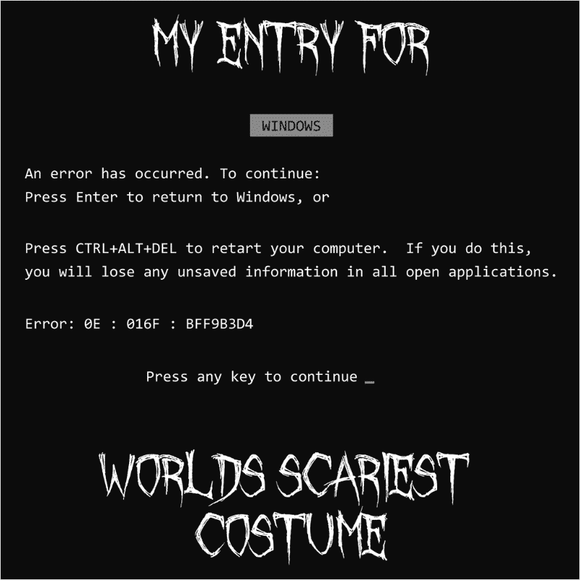 World's Scariest Costume - (DSN-10361)