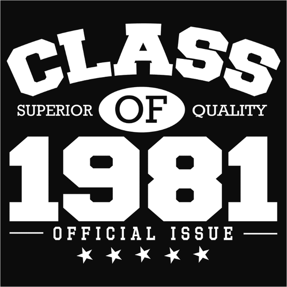Class of 1981 - (DSN-10841)
