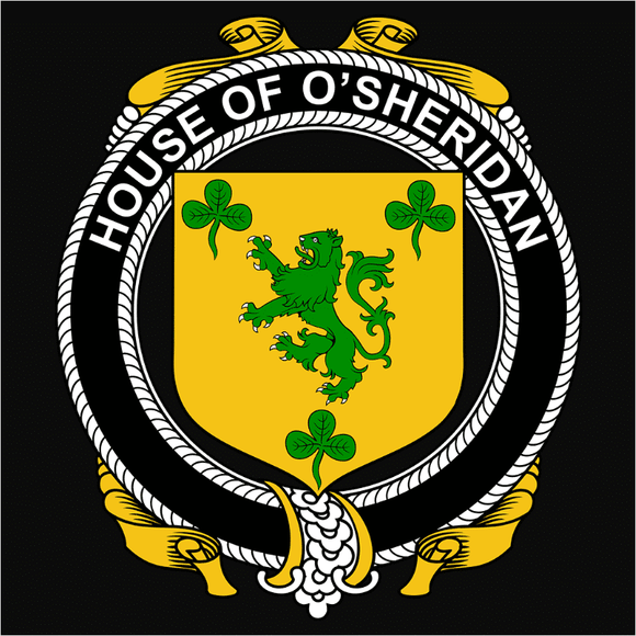 Irish House Heraldry O'Sheridan - (DSN-15491)
