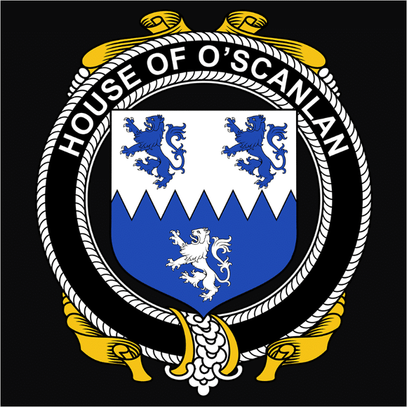 Irish House Heraldry O'Scanlan - (DSN-15487)
