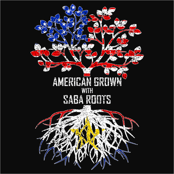 American Grown with Saba Roots - (DSN-11563)