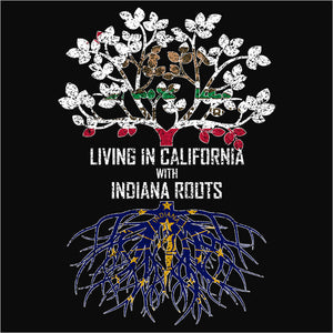 Living In California with Indiana Roots - (DSN-12492)
