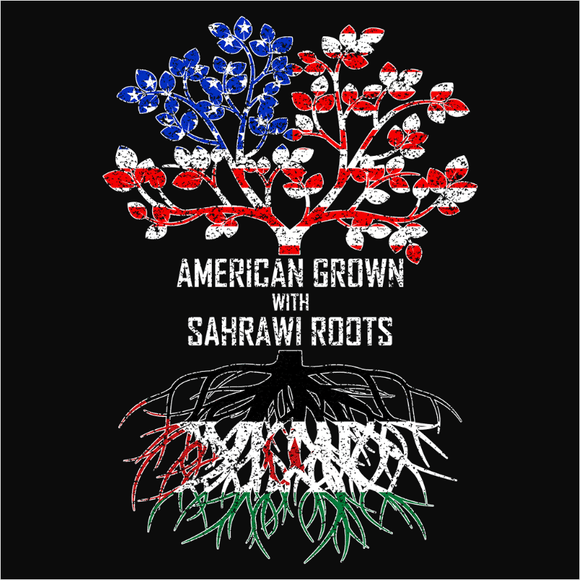 American Grown with Sahrawi Roots - (DSN-11626)