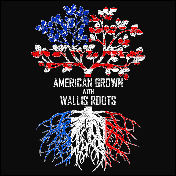 American Grown with Wallis Roots - (DSN-11624)